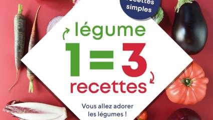 1 légume=3 recettes