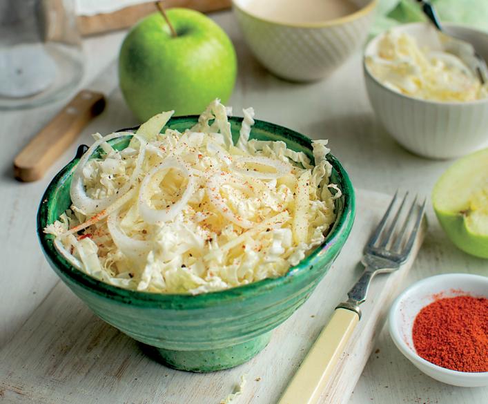 Salade de chou et pomme