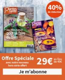 Offre spéciale Fêtes : 40 % de réduction sur votre abonnement + 1 Hors Série 100 recettes végétales - Savourez l'hiver