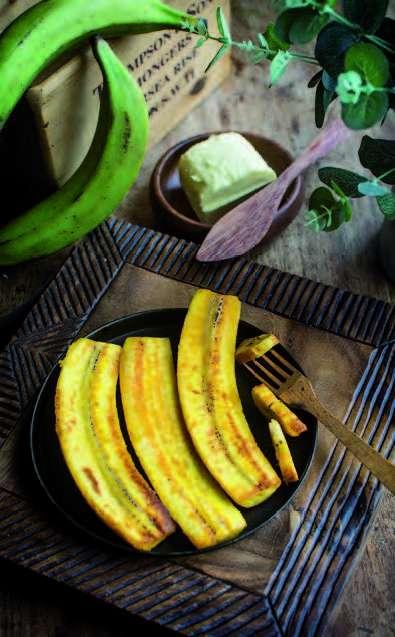 Bananes plantain sautées