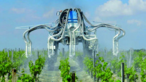 Pulvérisaton foliaire de pesticides