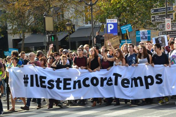 Marche pour le climat du 13 octobre, Paris