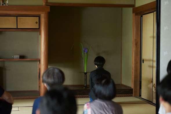 La cérémonie des fleurs, le hanakaï permet d'admirer dans le silence des compositions florales ou de plantes en invitant à la méditation, à la recherche de la beauté et de l'harmonie.