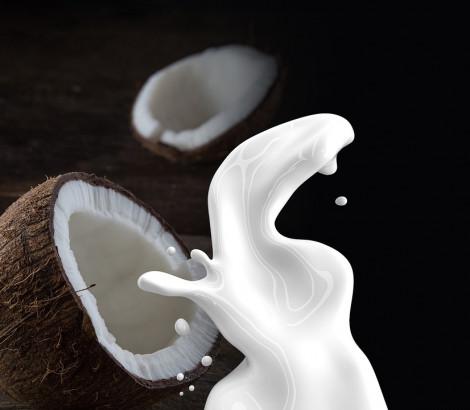 Il faut se méfier du lait de noix de coco car il est plus riche en acides gras saturés et doit donc être consommé avec modération.
