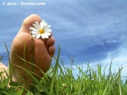 Phytothérapie : Mal aux pieds ? Ne restez pas les bras croisés!