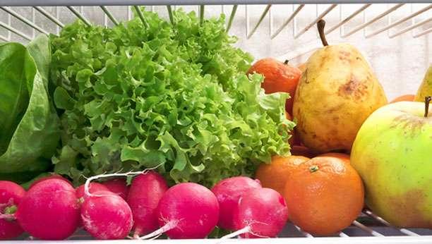Des fruits et légumes bien conservés