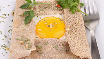 Galettes aux œufs