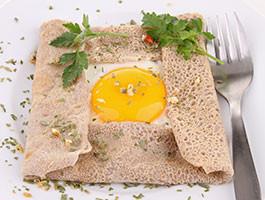 Testez notre menu végétarien et sans gluten