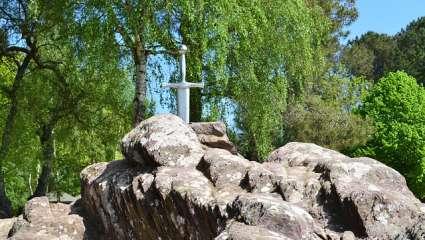 Forêt de Brocéliande - Epée du Roi Arthur