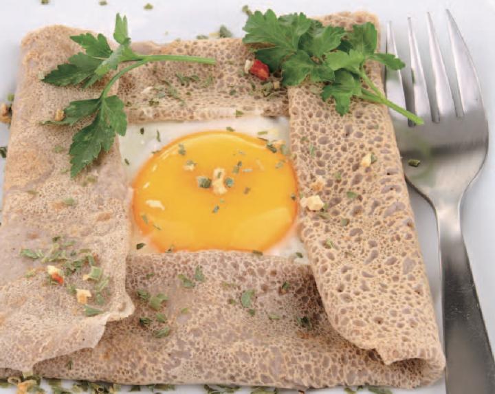 Galette de sarrasin à l'œuf