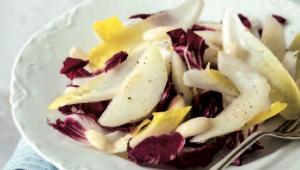 Salade d'endives et poires