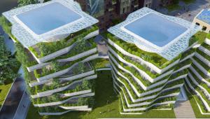 architecture futuriste ecologique