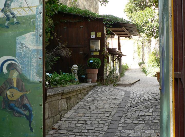 Le Jardin médiéval d'Uzès