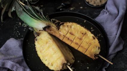 Ananas glacé au rhum