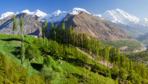Hunza Valley, au Pakistan