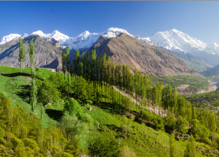 Hunza Valley, au Pakistan