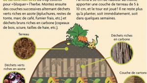 Permaculture - culture en lasagnes