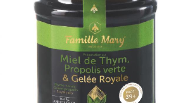 Miel de thym, propolis verte & gelée royale
