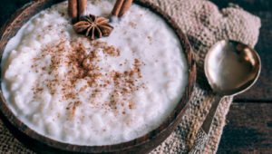 Pudding au riz à la noix de coco