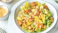 Salade César aux pois chiches
