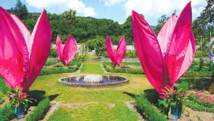 Au parc de Wesserling, des jardins à vivre