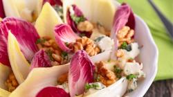 Salade d'endives au chèvre