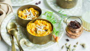 Pouding aux carottes à l'indienne