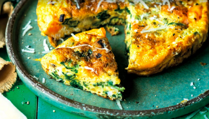 Frittata aux orties