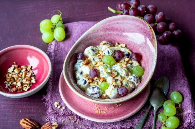 Salade de raisins