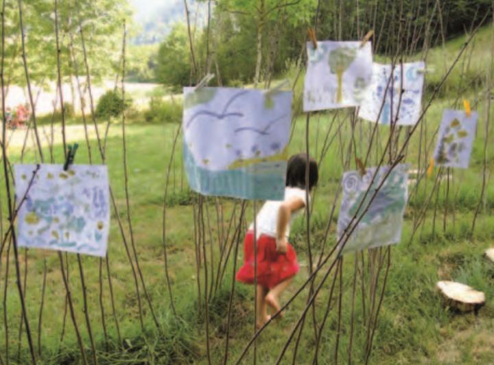 Enfant initiation au jardin