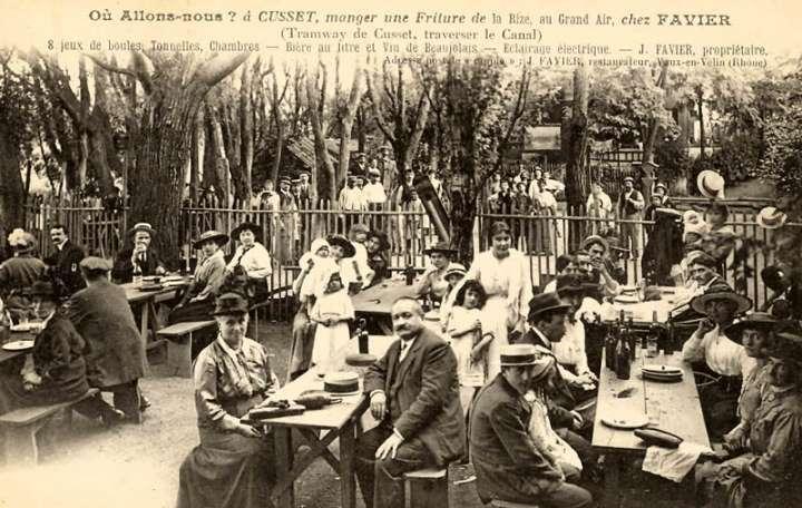 Guinguette parisienne