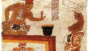 Illustration maya chocolat