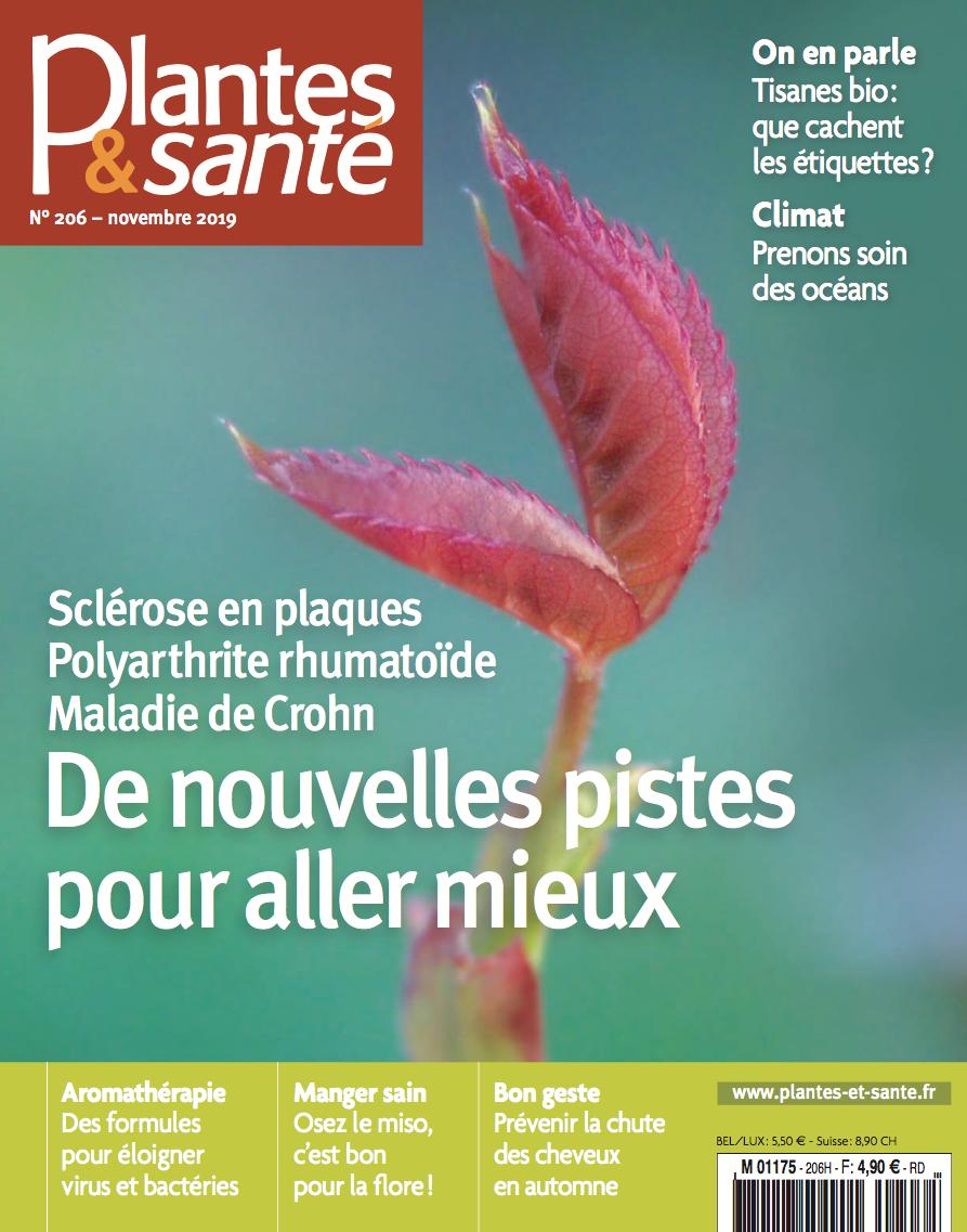 Couverture Plantes et Santé 206