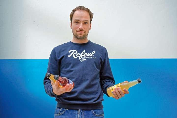 David Lévêque a créé des recettes pour remplacer le soda