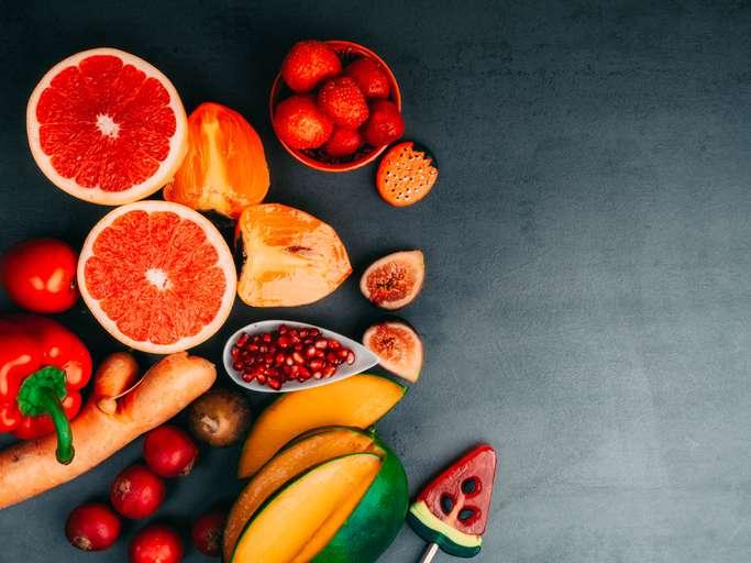 Fruits et Légumes riches en caroténoïdes