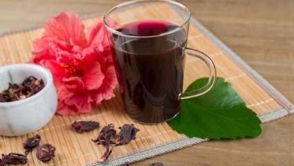 Une décoction d'hibiscus contre l'hypertension
