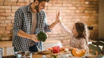 Transmettre l'amour de la cuisine