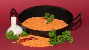 Lentilles rouge-soupe
