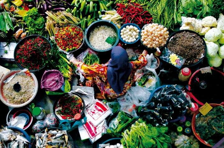 Marché malaisien