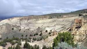 montagne zéolithe