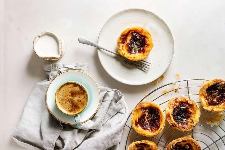 Tartelettes pasteis de nata