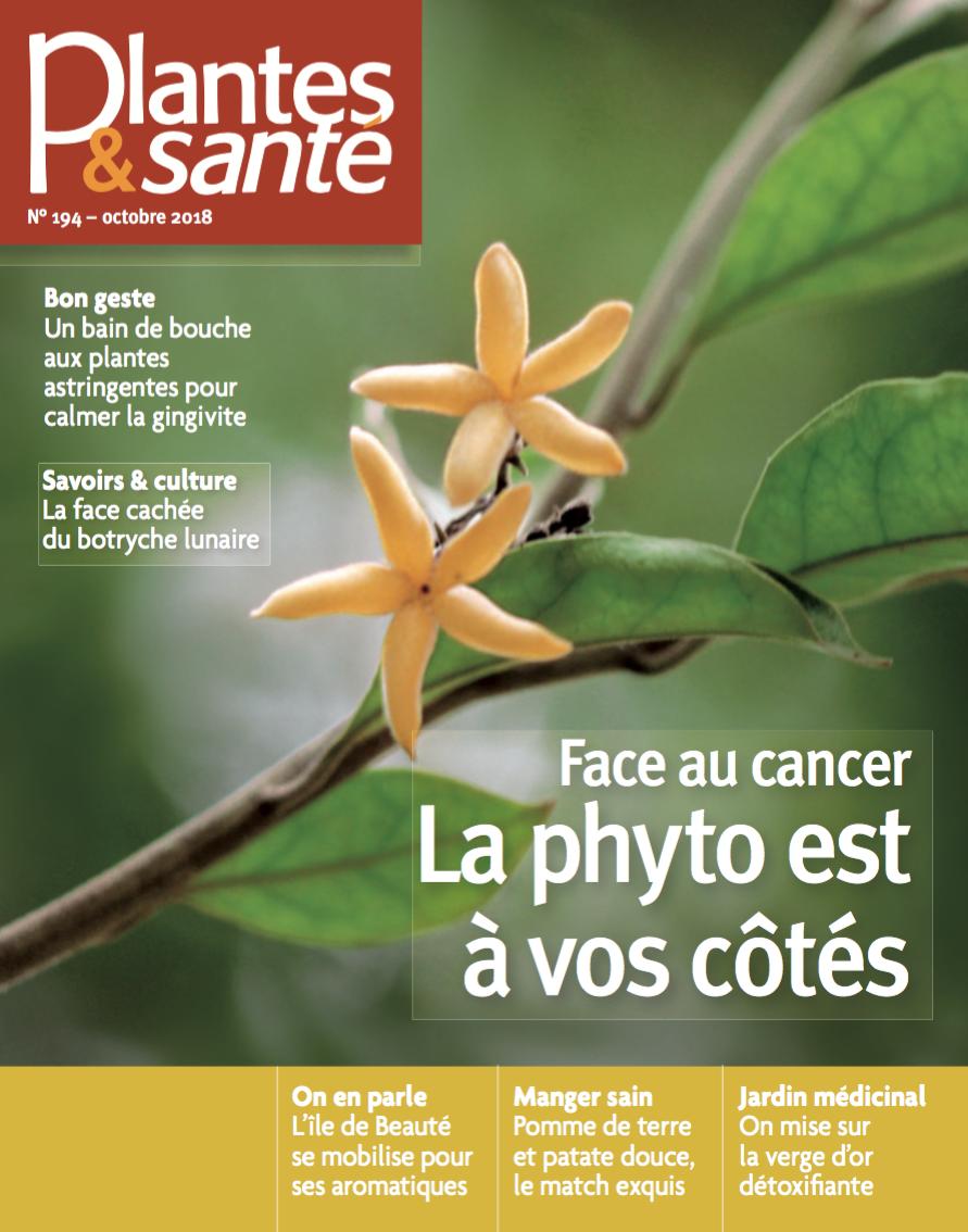 Face au cancer, la phyto est à vos côtés