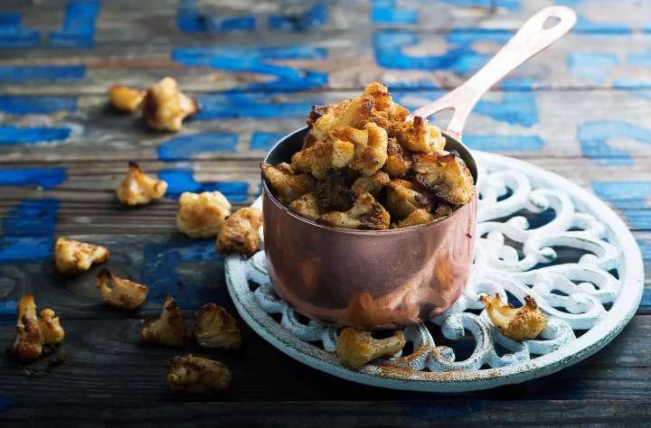 Pop-corn de chou-fleur