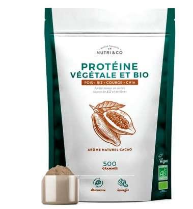 Protéine végétale et Bio Nutri &Co