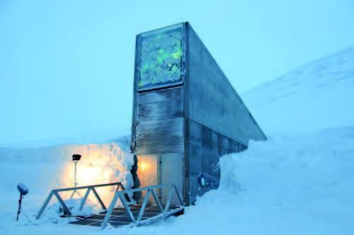 la Réserve mondiale de semences du Svalbard