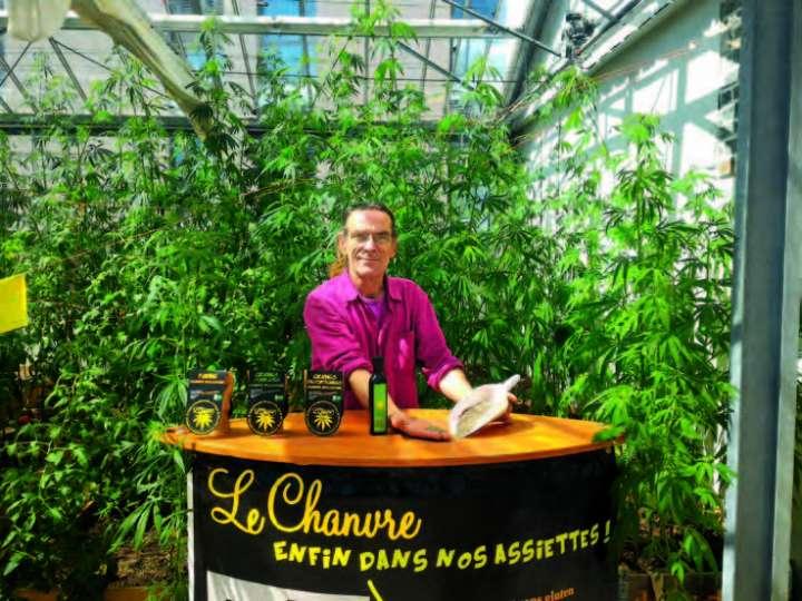Christophe Latouche, fondateur de L'Chanvre