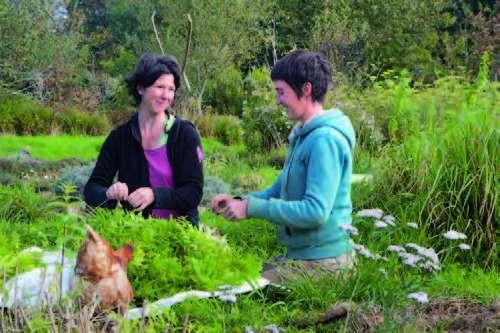Dorothée Guitton et Julie Le Pann