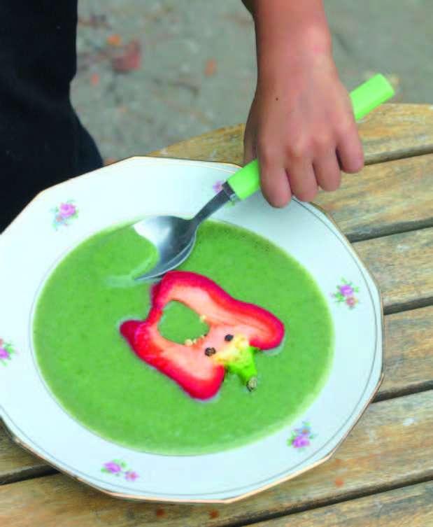 Soupe fortifiantes pour les enfants