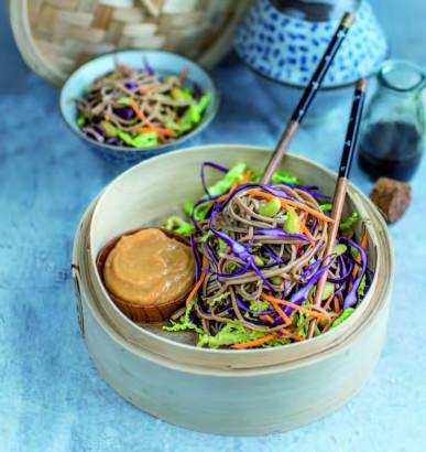 Salade de nouilles soba