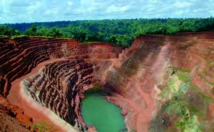 Mine de fer en Amazonie